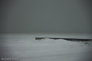 Winter Storm on Lake Michigan