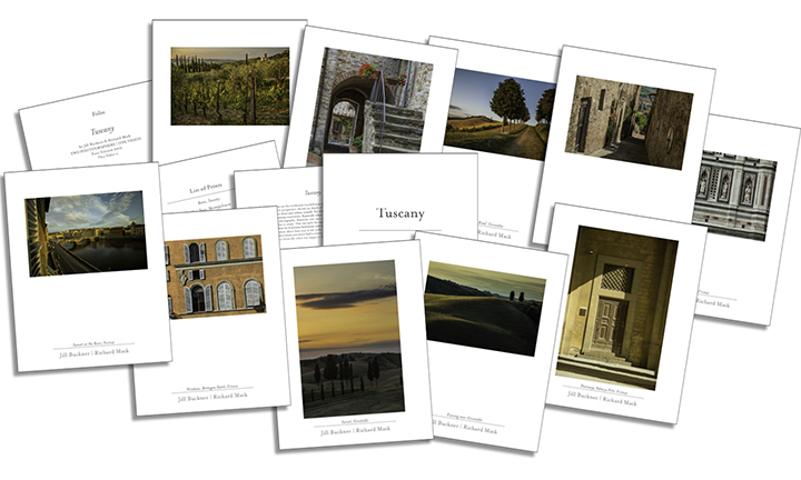 Folio - Tuscany, Jill Buckner & Richard Mack, photographers